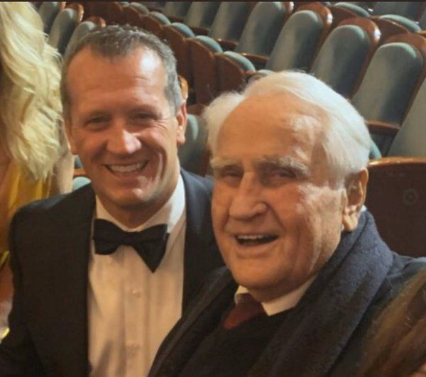Meeting a legend: Dalton football coach relishes his time with NFL's Don Shula
