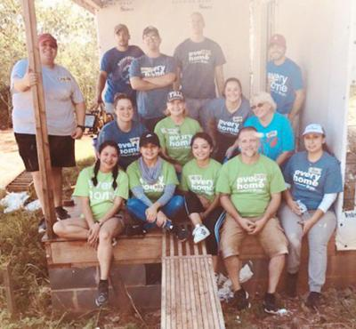 Georgia United Credit Union gives back to Greater Dalton Habitat for Humanity