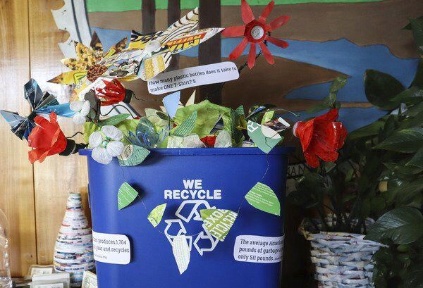Recycle & Reuse: Start creating your own upcycled art
