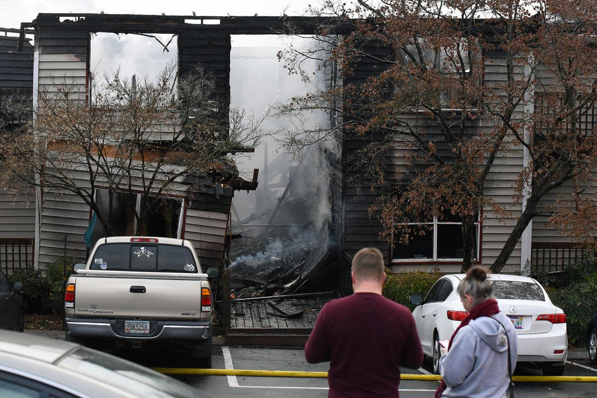 SLIDESHOW: Fire at Park Canyon apartments | Local News ...