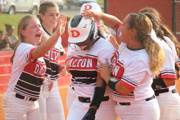 High school roundup: Dalton softball falls despite Simpson solo shot; Creek volleyball wins one at Rome tri-match