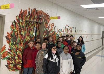 Spring Place Elementary holds Turkey Feather Contest to benefit Murray County's Community Christmas