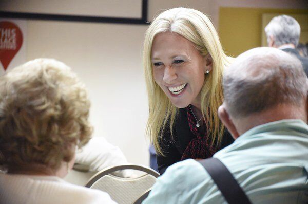 Greene candidacy for Congress draws national attention, but some local Republican leaders say aren't aware of her views