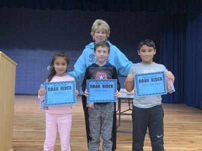 Spring Place Elementary recognizes kindergarten-third grade ROAR Riders