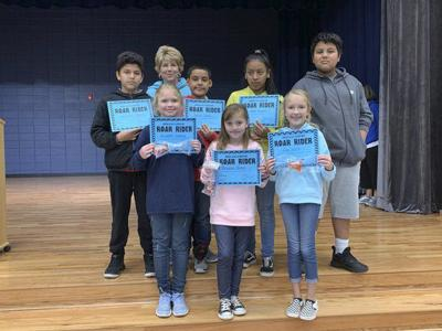 Spring Place Elementary recognizes 4th-6th grade ROAR Riders