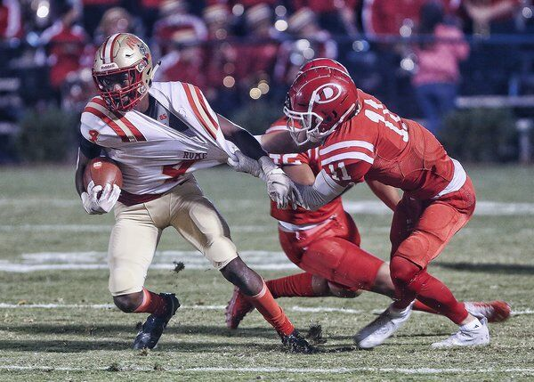 Rome uses ground game and attacking defense to power past Dalton, 24-8