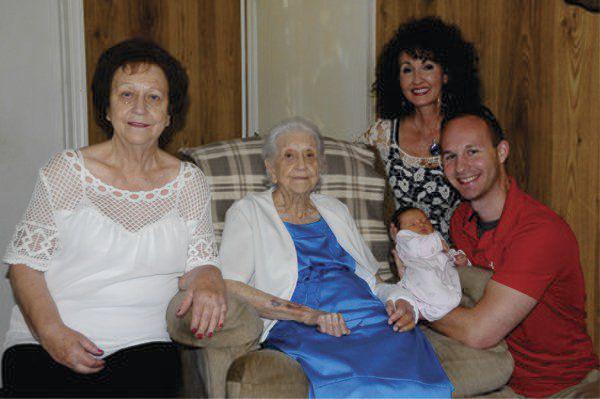 Family celebrates 5 generations Community dailycitizennews