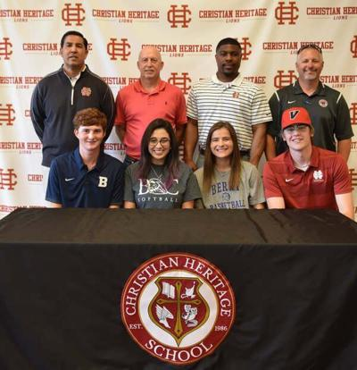 4 Christian Heritage seniors sign to play in college