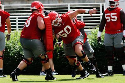 Georgia's offensive line features depth and competition with an influx of young talent