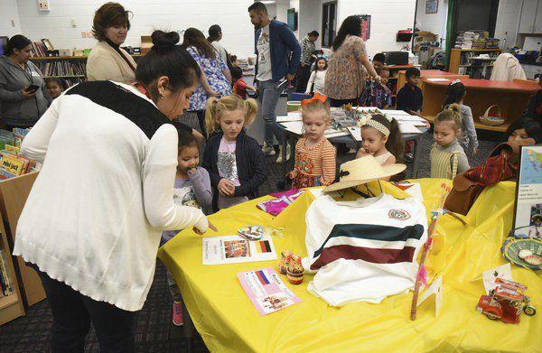 Westwood Elementary celebrates family, global cultures