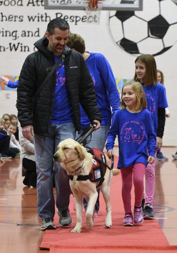 'A special part of our family': Cohutta student introduces service dog to school (with VIDEO)