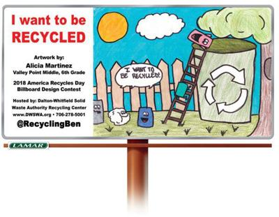 America Recycles Day Billboard Contest happening this fall