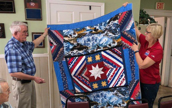 Quilts of Valor honor veterans