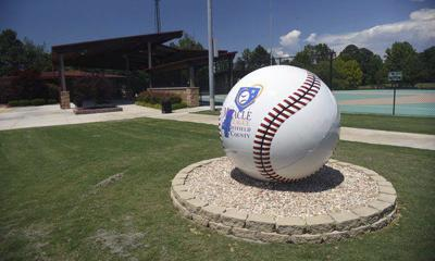 'More beautiful than ever': Vandalized Miracle Field ball restored, given new showcase