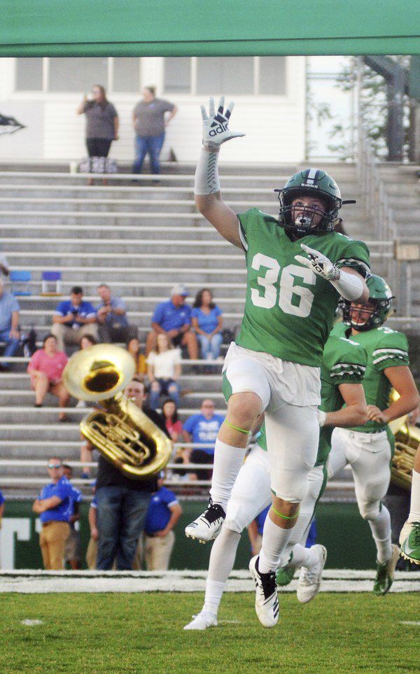 Right at home: Murray County linebacker committed to being there for his team