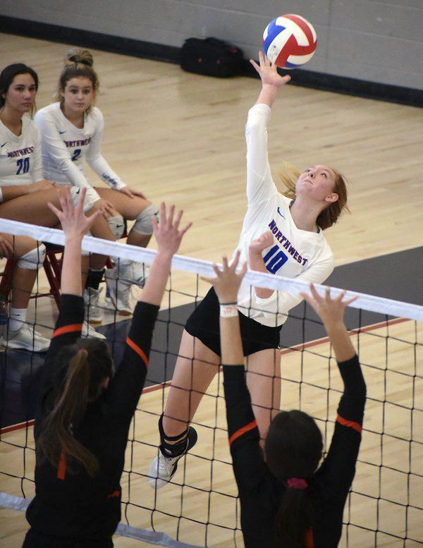 High school volleyball roundup: Northwest, North Murray earn No. 2 seeds for playoffs