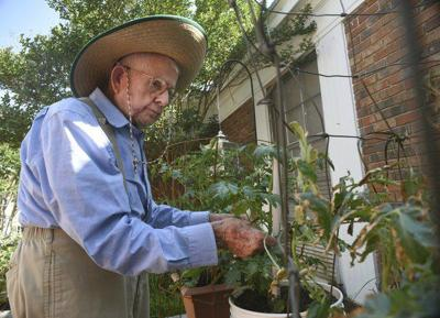 He knows just what it takes to make a garden grow': At 90