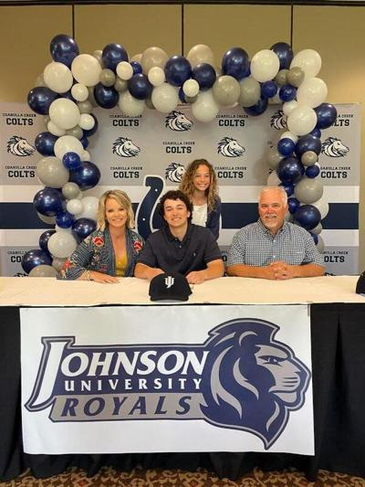 Reed signs with Johnson University