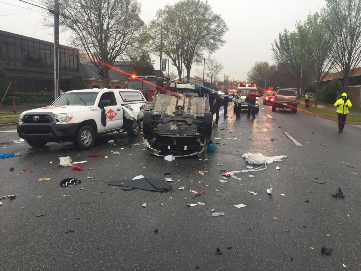 UPDATED: Two taken to Hamilton after three-vehicle wreck (with ...