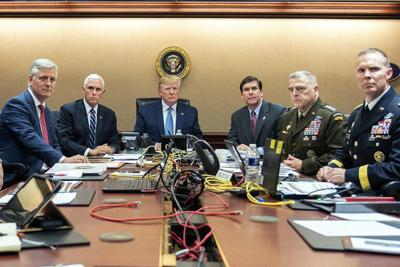 Brigadier general from Dalton was in the Situation Room of the White House as raid on Islamic State leader was underway