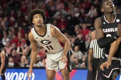 Harrison's basketball journey culminates in first career start for UGA