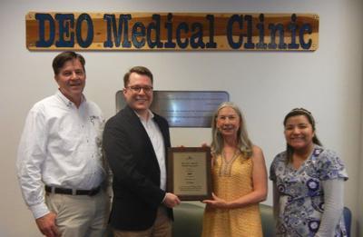 DEO Clinic receives Ellen Andersen Award