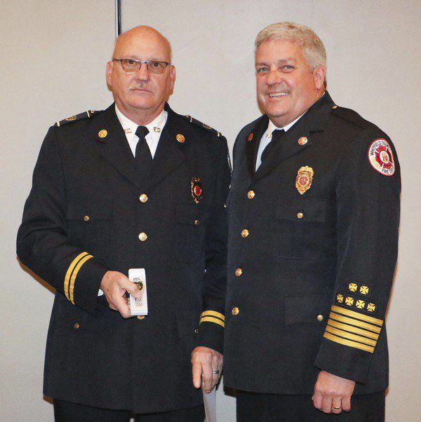 Heatherly named Career Firefighter of the Year, honored for 40 years of service
