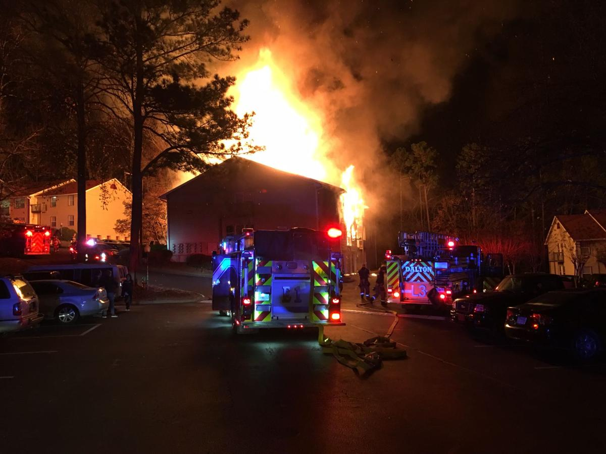 No injuries from fire at apartment complex; cause \'too early to tell ...