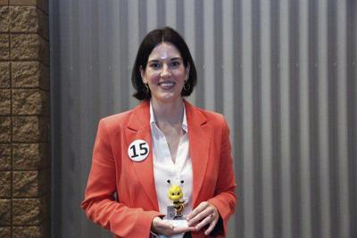 GNTC's Scearce competes in Celebrity Spelling Bee