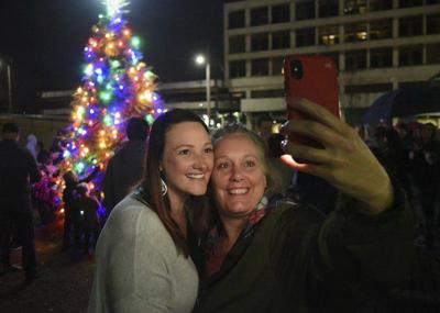 Community inaugurates Christmas tree lighting ceremony downtown