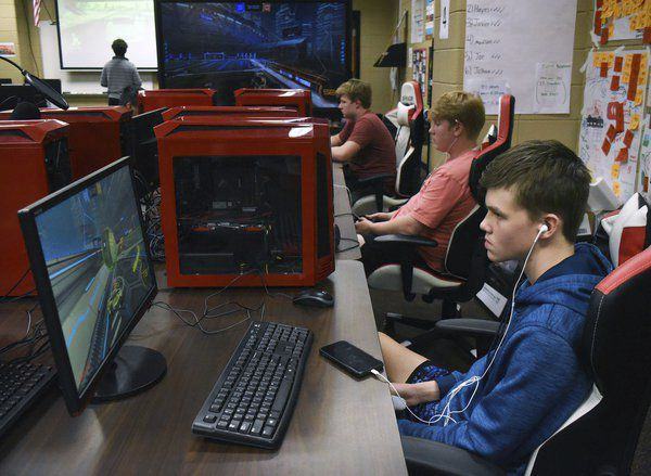 Members of Dalton's Esports team hope to rocket to the top