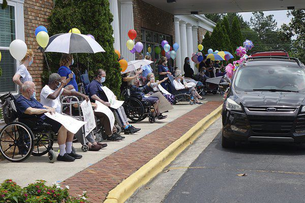 Hamilton Long Term Care facilities hold social distancing parades for residents, family members