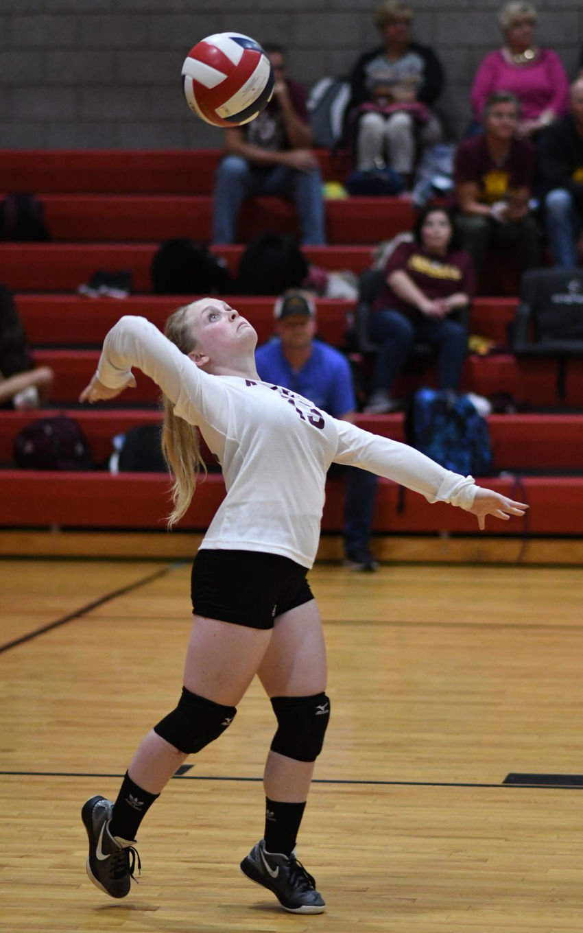 Russell at Fairview Volleyball