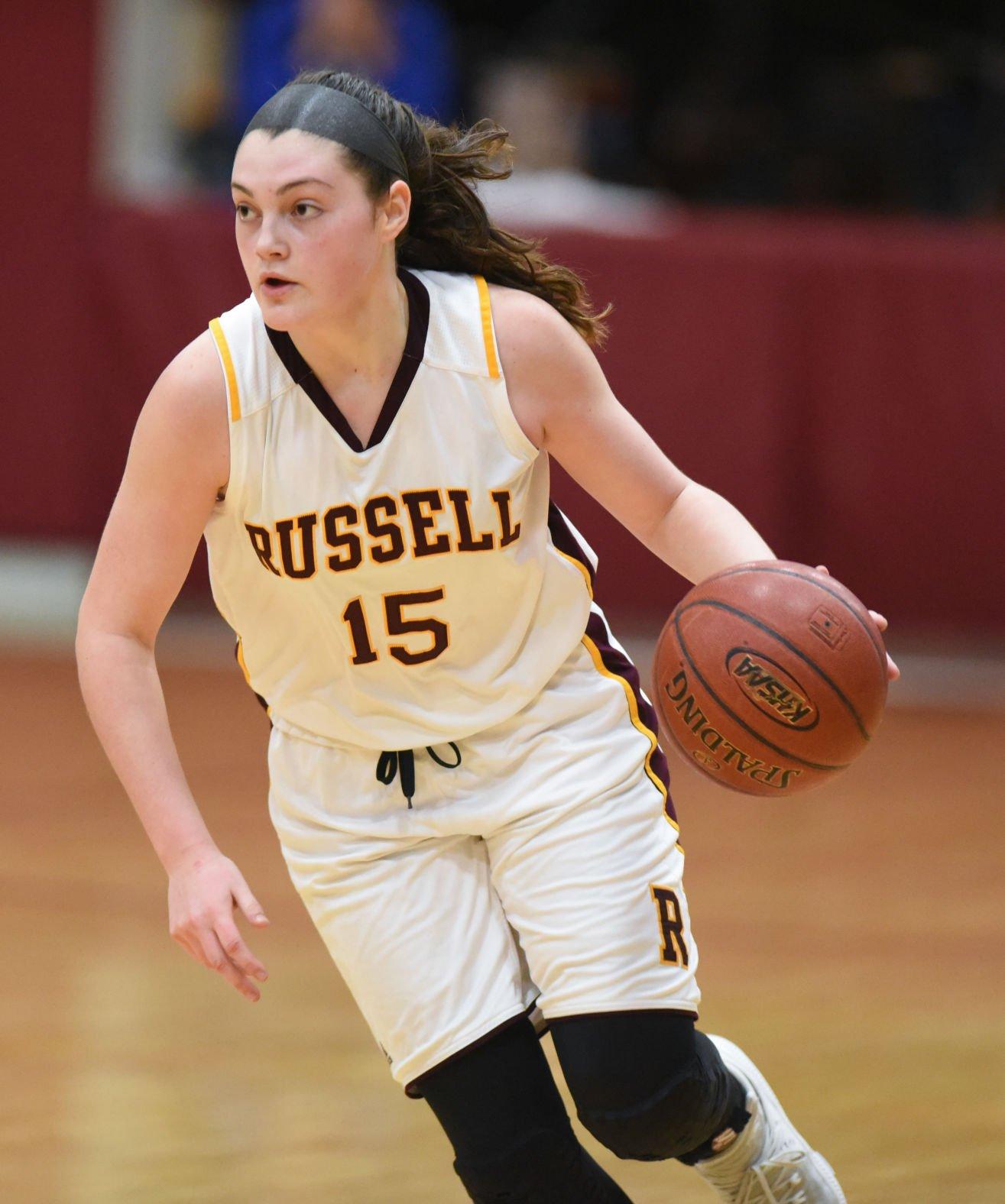 West Carter at Russell girls basketball
