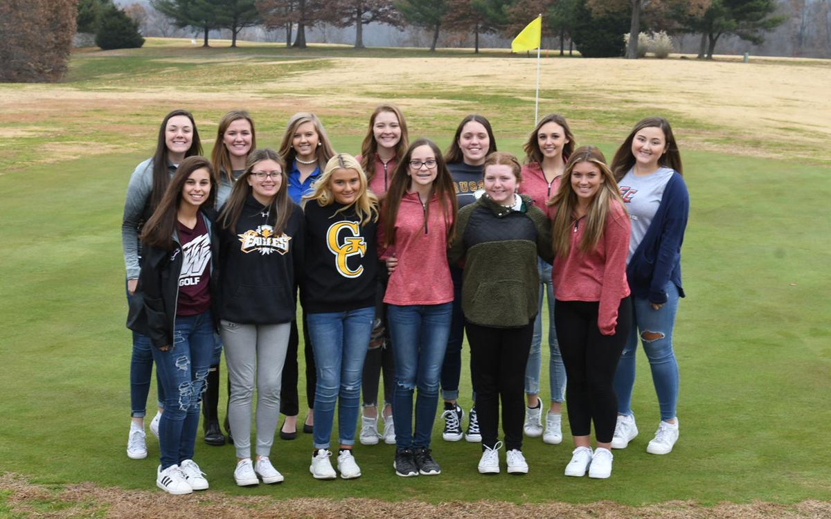 All Area Golf Team