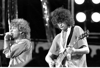 Led Zeppelin music