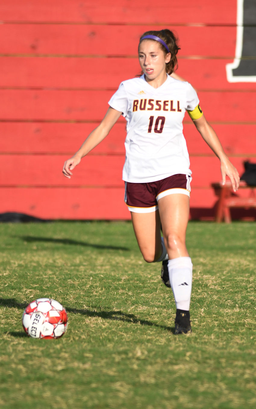 Russell at Lawrence County Soccer