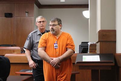 Tony Clarke in court.