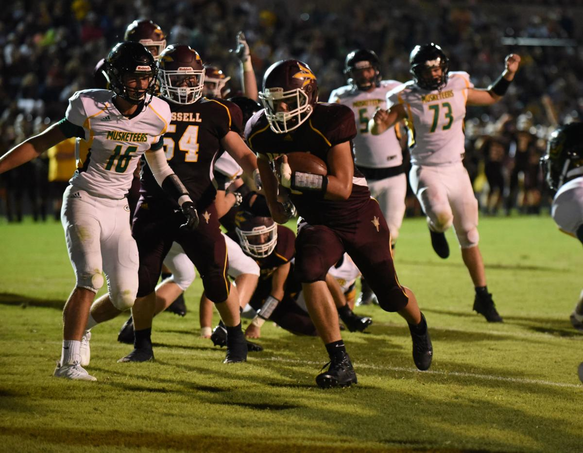 backyard brawl wall greenup county halts russell in ot sports
