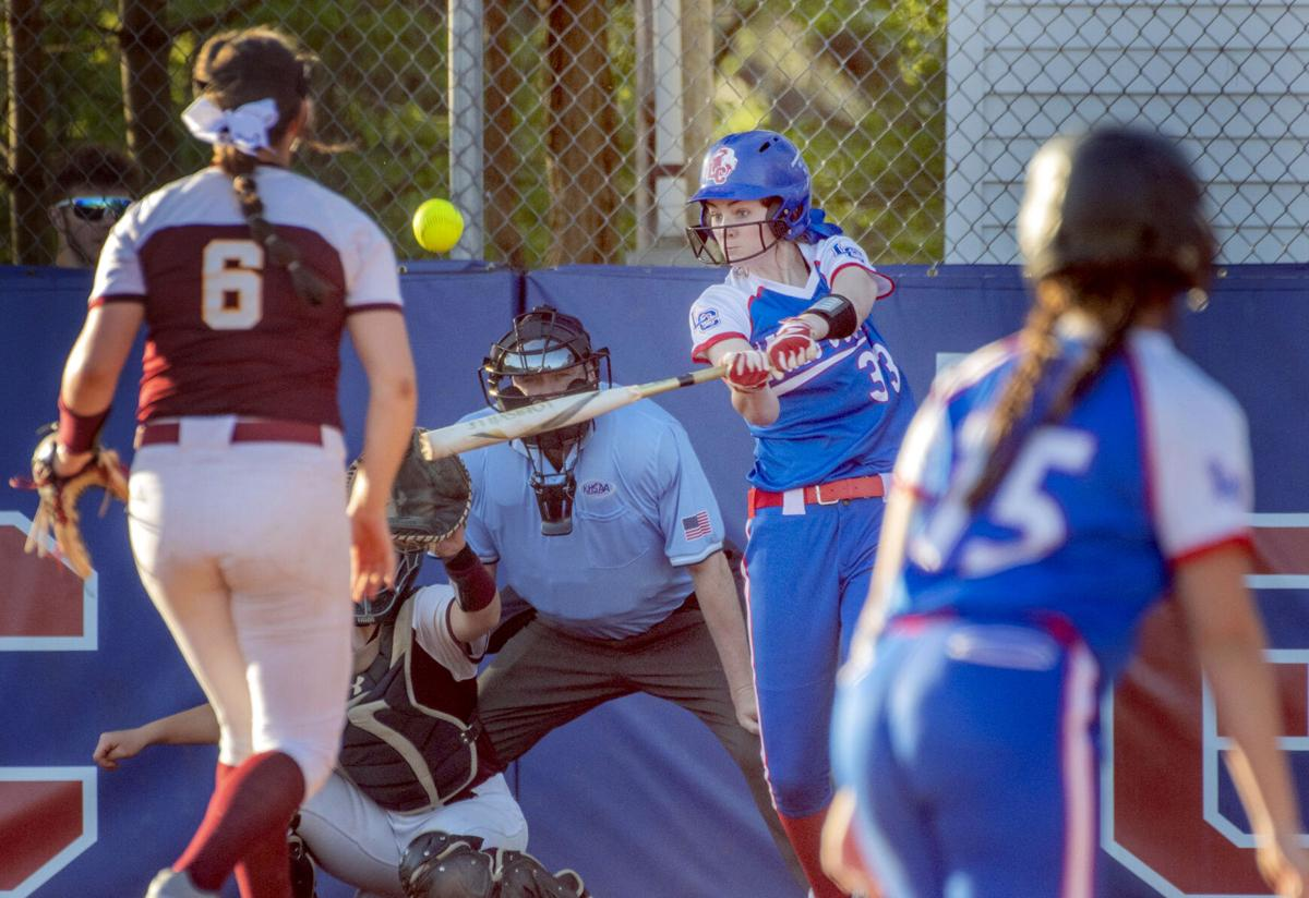 Lewis County v Russell Softball