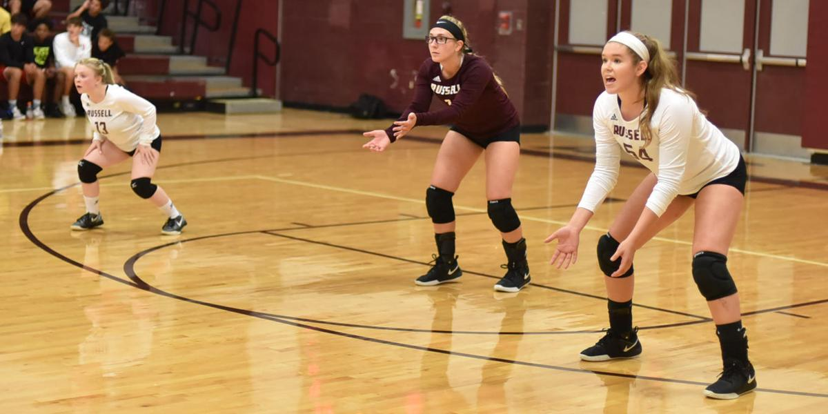 Russell at Ashland Volleyball