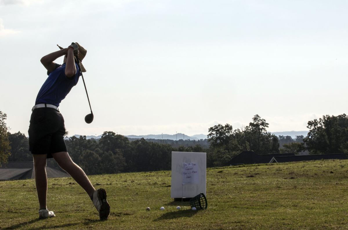 Boys Region Golf