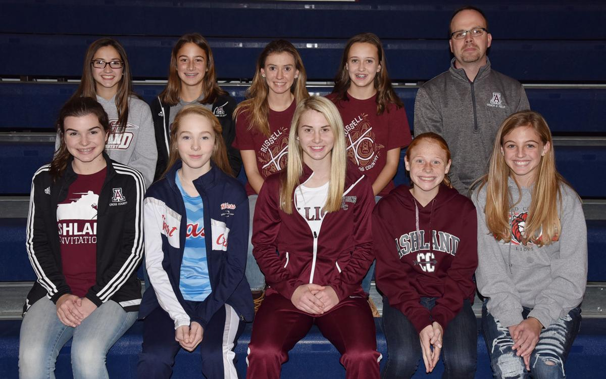 All Area Cross Country Selections