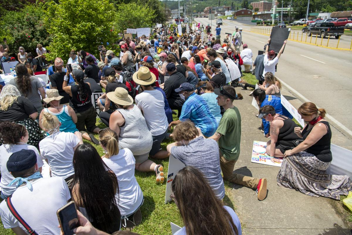 Black Lives Matter march in Morehead
