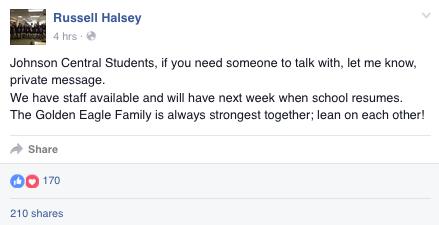 Russell Halsey, JC Principal