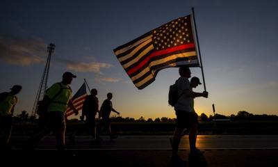 Annual 9/11 walk honors fallen firefighters