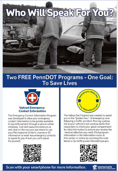 Yellow Dot Program: Information for first responders