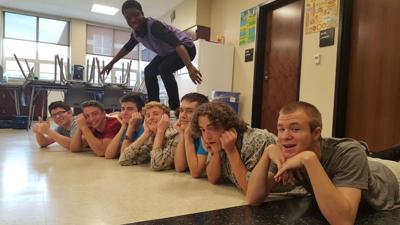 Students prepare for 'Mr. Lewisburg' competition