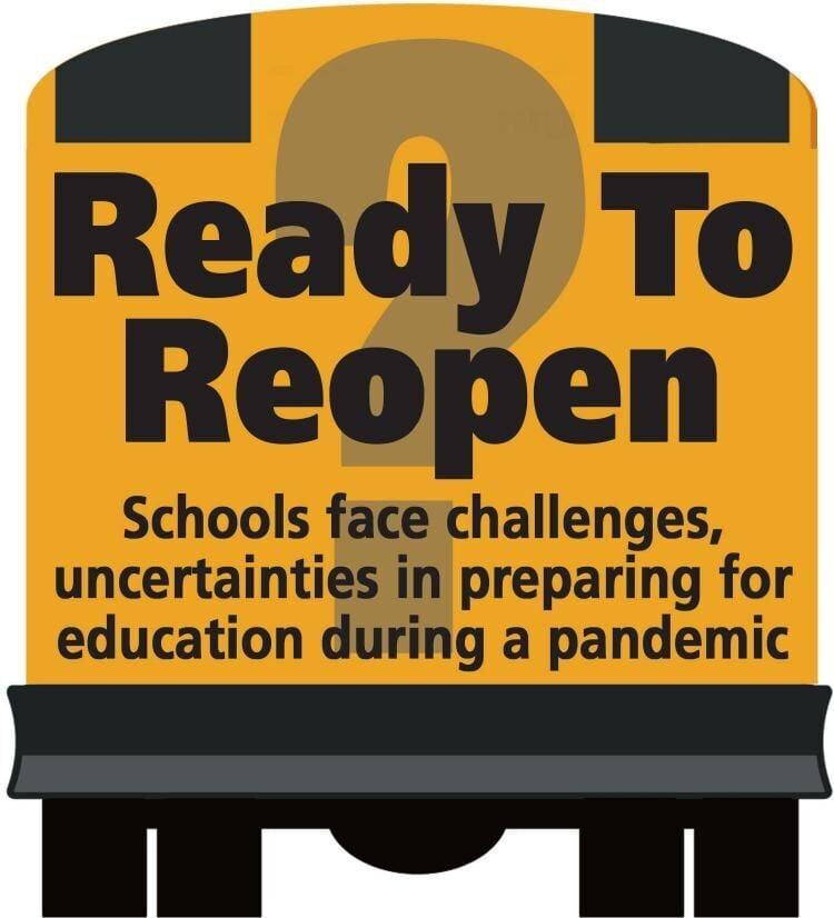 Schools Reopen logo