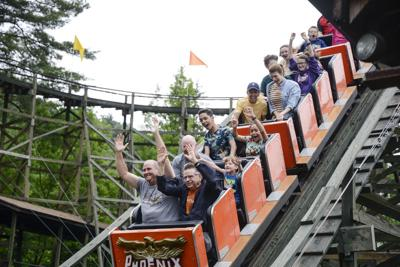 A DAY IN THE LIFE OF KNOEBELS: Guests on Phoenix